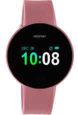 OOZOO Smartwatch Q00209 40mm Zwart/Roze/Roze - OOZOO