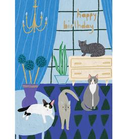 "Happy Birthday  ""Cats"" - Roger la Borde"