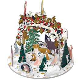 Adventskalender Pop & Slot Paw Prints in the Snow