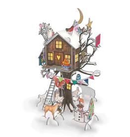 Adventskalender Pop & Slot Christmas Treehouse