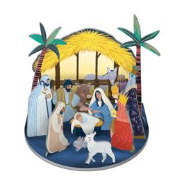 "Pop & Slot ""Nativity"" - Roger la Borde"