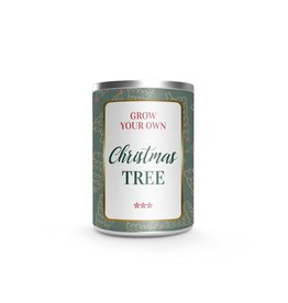 Grow Your own Christmas tree in cadeau Blik