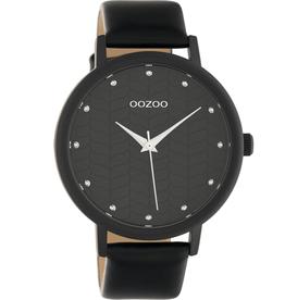 OOZOO Horloge C10659 zwart 45mm - OOZOO