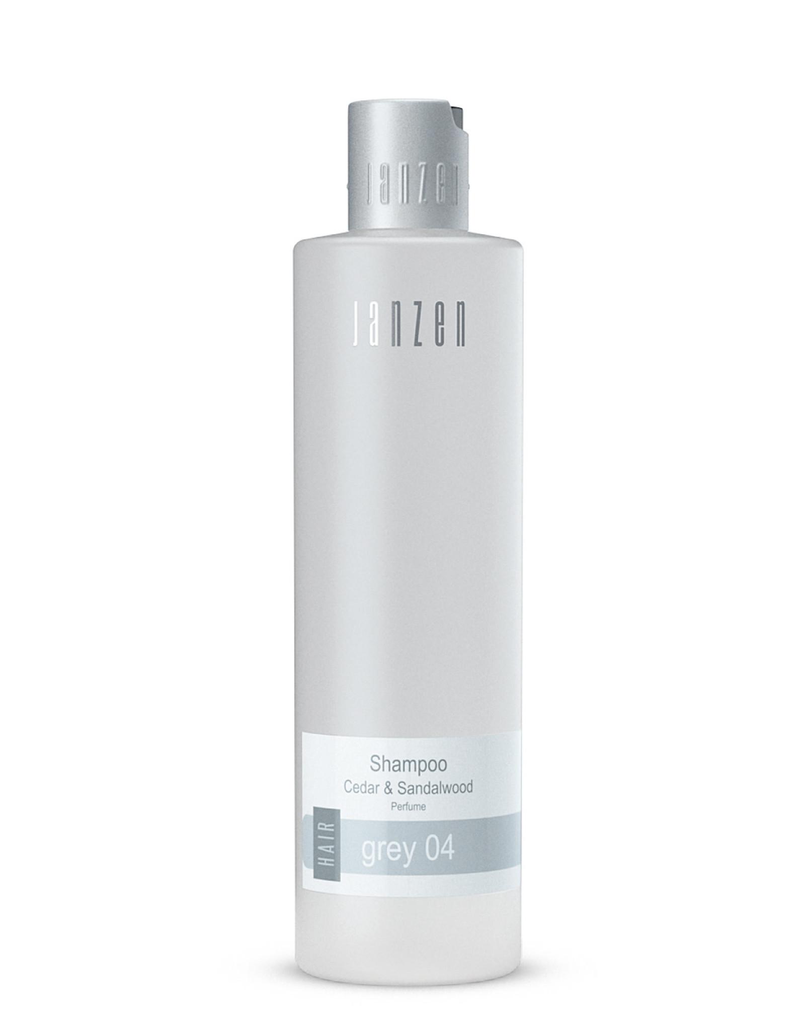 JANZEN Shampoo Grey 04 300ml - JANZEN