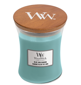 "WoodWick Kaars WoodWick ""Blue Java Banana"" medium - WoodWick"
