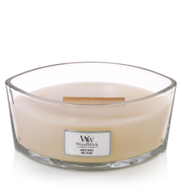 "WoodWick Kaars WoodWick ""White Honey"" Ellipse - WoodWick"