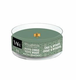 "WoodWick Kaars WoodWick ""Sage & Myrrh"" Petite Candle - WoodWick"