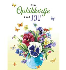 Wenskaart Groot Een Opkikkertje voor Jou -  Janneke Brinkman