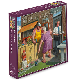 "Puzzel ""De Druppel"" Marius van Dokkum 48,5x54cm / 1000 pcs"