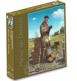 """Puzzel """"De Aardappelsteker"""" Marius van Dokkum 48,5x34,5cm / 500 pcs"""