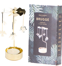 Home Society Carousel Brugge goud - Home Society