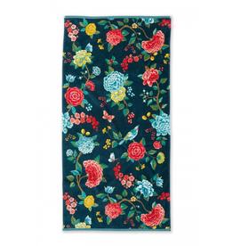 Pip Studio Handdoek groot Good Evening d.blauw 70x140cm - Pip Studio