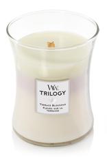 "WoodWick Kaars WoodWick Trilogy ""Terrace Blossoms"" Medium - WoodWick"