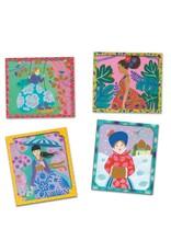 Djeco Artistic Beads De Wereld Rond 7-13jr - Djeco