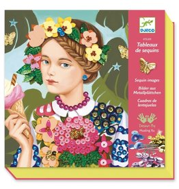 Djeco Schilderij van Lovertjes maken 8-14jr - Djeco