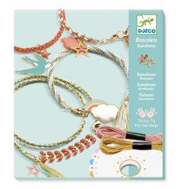 Djeco Kumihimo Armbandjes maken 8-14jr - Djeco