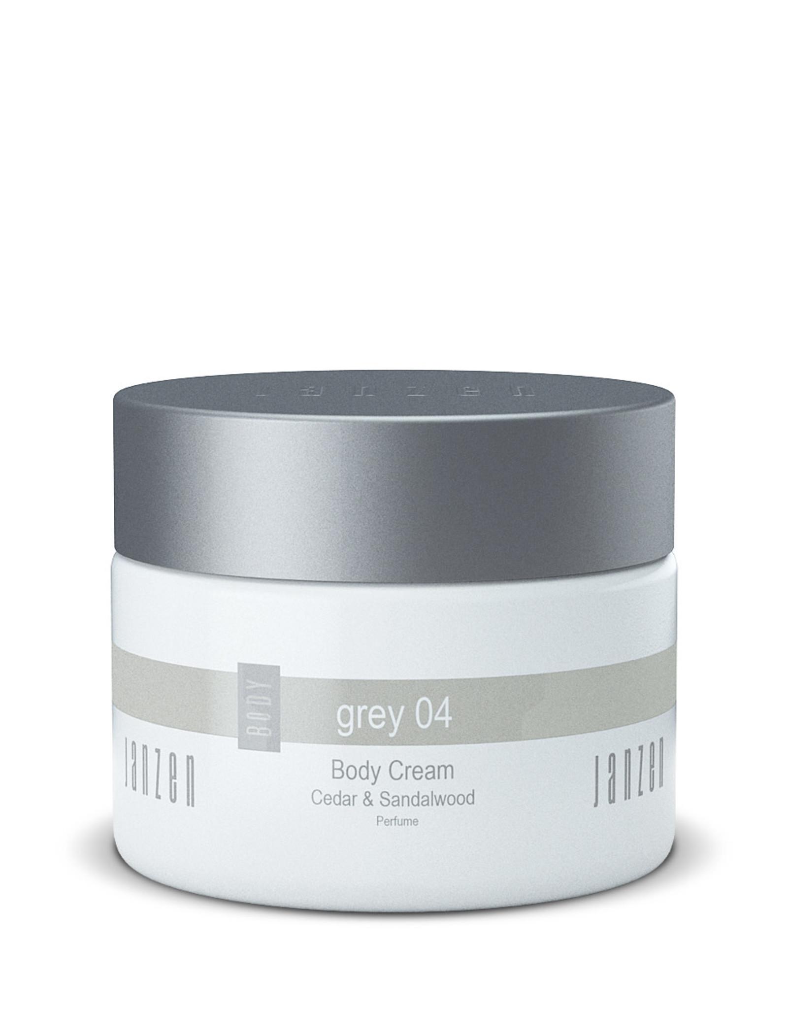 JANZEN Body Cream Grey 04 300ml - JANZEN