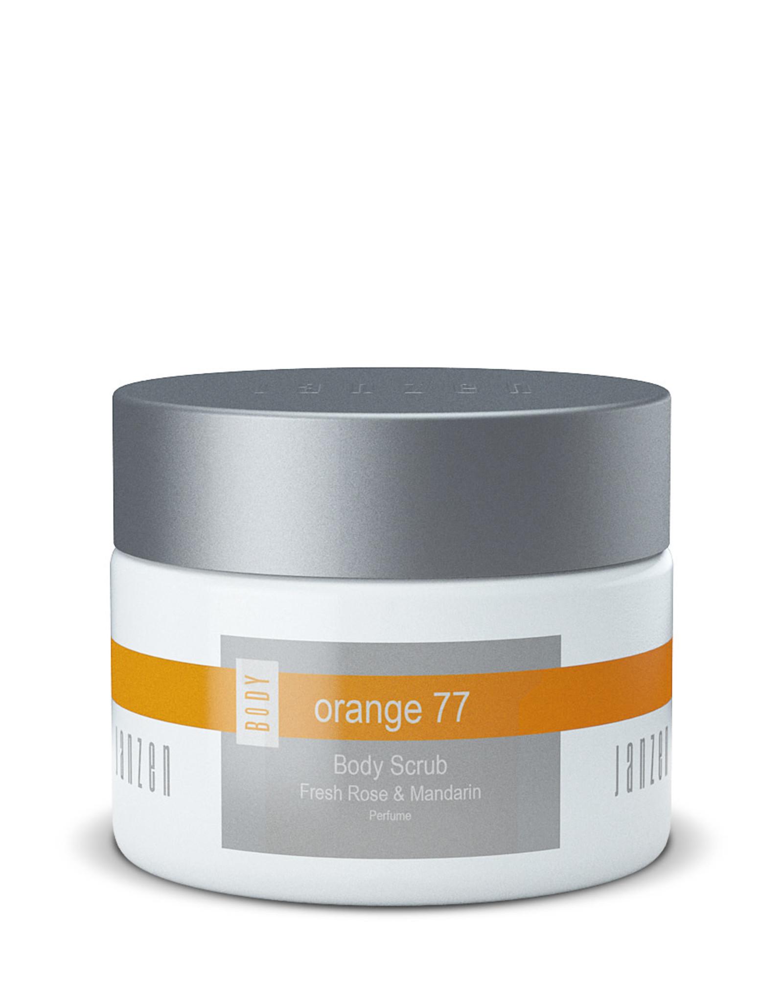 JANZEN Body Scrub Orange 77 420gr - JANZEN