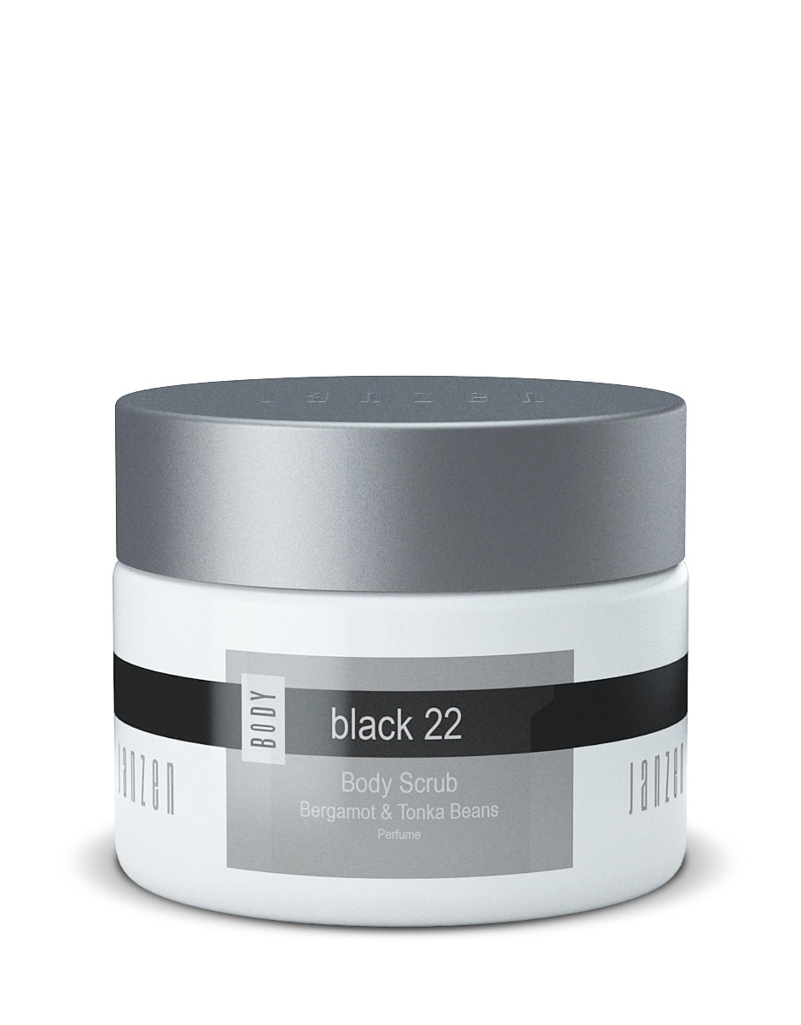 JANZEN Body Scrub Black 22 420gr - JANZEN