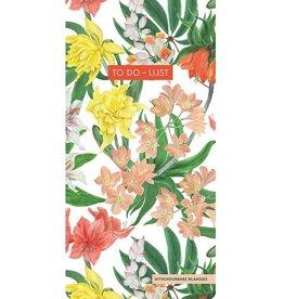 Deltas To Do - Lijst Tropical Flowers - Deltas