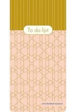 To Do - Lijst Pink Patterns - Deltas