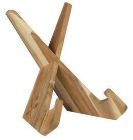 Räder Kookboekstandaard hout - Räder