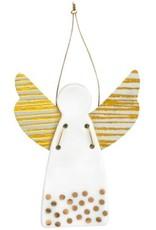 Räder Bescherm Engel groot Stippen Goud 6,5x9cm - Räder