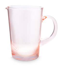 Pip Studio Waterkan Twisted roze 1.45L - Pip Studio