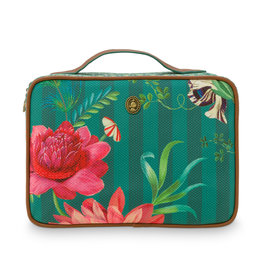 Pip Studio Beauty Case groot Fleur Grandeur groen - Pip Studio