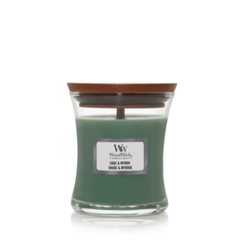 "WoodWick Kaars WoodWick ""Sage & Myrrh"" mini - WoodWick"