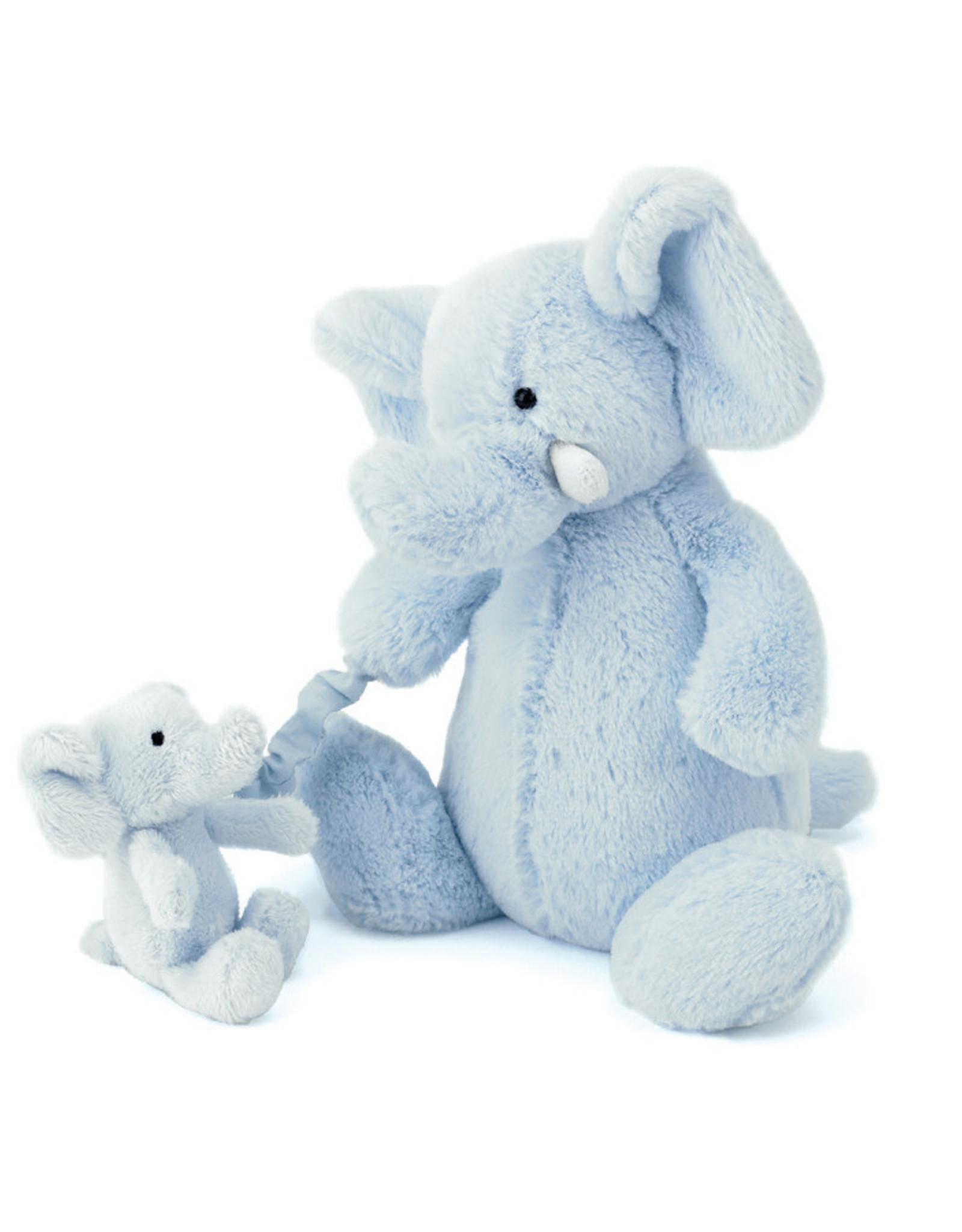 Jellycat Muziekknuffel Bashful Elly blauw - Jellycat