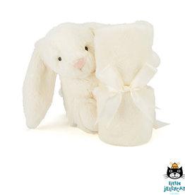 Jellycat Knuffel Doek Bashful Bunny Crème - Jellycat