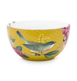 Pip Studio Kom Blushing Birds geel 12cm - Pip Studio