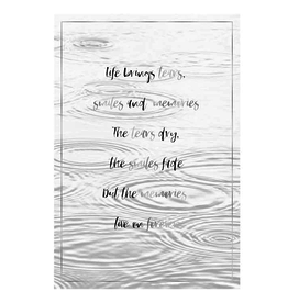 Life brings tears.. - Wenskaart Compassion