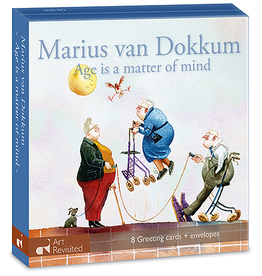 Kaartenmapje Marius van Dokkum - Age is a matter of mind