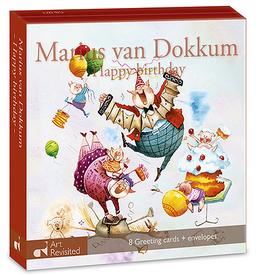 Kaartenmapje Marius van Dokkum - Happy Birthday
