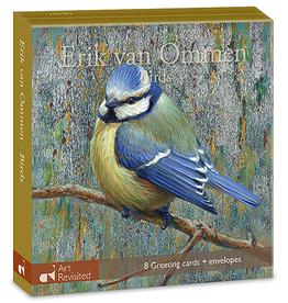 Kaartenmapje Erik van Ommen - Birds
