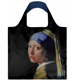 Loqi Shopper Opvouwbaar Girl with a Pearl - Loqi