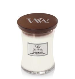 "WoodWick Kaars WoodWick ""Coconut & Tonka"" medium - WoodWick"