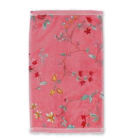 Pip Studio Gastendoekje Les Fleurs 30x50cm roze - Pip Studio