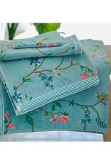 Pip Studio Handdoek groot Les Fleurs blauw 70x140cm - Pip Studio