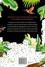 Deltas Creative Coloring - Natuur kleurboek voor volwassenen