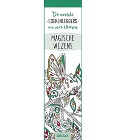 Deltas De Mooiste Boekenleggers om in te Kleuren - Magische Wezens