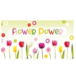 Flower Power - Wenskaart