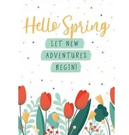 Hello Spring.. - Wenskaart