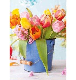 (Tulpen) - Wenskaart