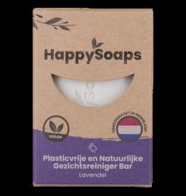 HappySoaps Gezichtsreiniger Bar  Lavendel - HappySoaps