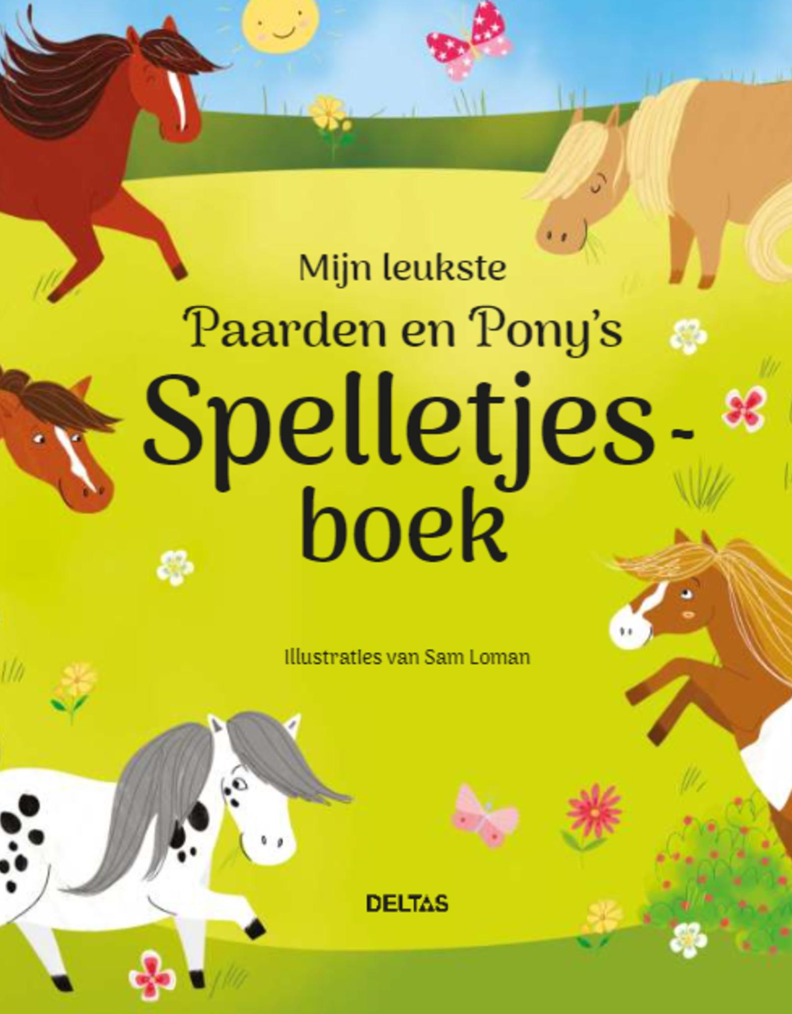Deltas Mijn leukste Paarden en Pony's spelletjesboek +7jr - Deltas