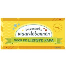 Deltas Superleuke waardebonnen voor de liefste Papa - Deltas