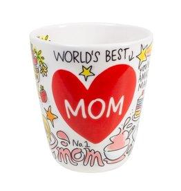 "Blond Amsterdam 3D Beker Hart ""Mom"" 0,35l - Blond Amsterdam"